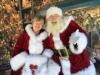 Mrs Claus and Santa Manhattan Beach