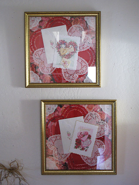 Mrs Claus - Valentine's Decorations