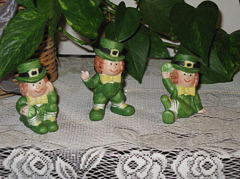 Mrs Claus - St Patrick's Day Decorations