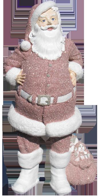Pink Santa Claus