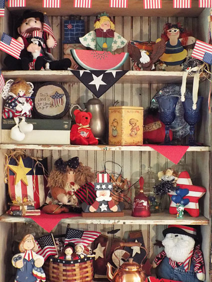 4th of July Decorations - The Holiday Hutch